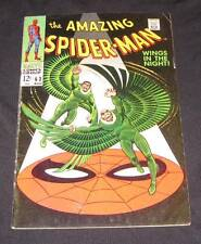 Amazing Spider-Man #63 vg+ (4.5) 12¢ cover Marvel Comic | battles Vulture!