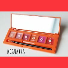 Aritaum X Sticky Monster Lab Lip and Cheek Palette with Brush - Orange Red Pink