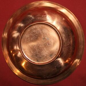 1980 Folk hand made copper bowl