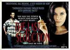 THE LAST SEDUCTION Movie POSTER 30x40 Linda Fiorentino Peter Berg J.T. Walsh