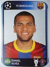 Panini 215 Daniel Alves FC Barcelona UEFA CL 2010/11