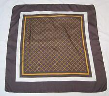 Italian Unbranded Very Elegant Geometrical Design 100% Luxurious Silk!