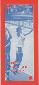 1979-80 Clemson Women's Basketball Media Guide  Lady Tigers