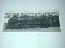 TRAIN LOCOMOTIVE à Vapeur PONTOISE 1965  photo photographie d'époque