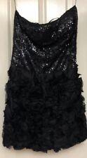 Nazz Collection Black Dress Size 14