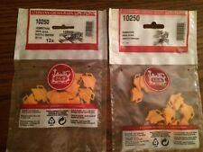 LGB 10250 (5025) Wheel Block (Wheel Stops) 2 Packages of 12 = 24! NEW in Bags!!