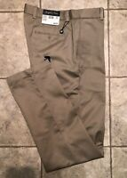 JOSEPH & FEISS * Mens Khaki Casual Pants * Size 32(34) x 34 * NEW WITH TAGS