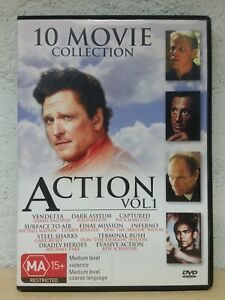 10 Movie Action DVD Collection Vol 2 - Ten Movies Pack - AUSTRALIAN RELEASE