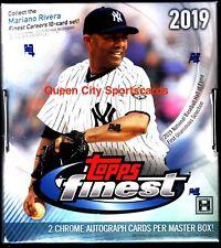 2019 Topps Finest Baseball Factory Sealed Hobby Box