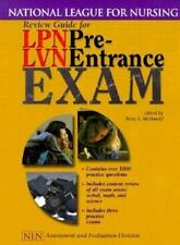 Review Guide for LPN/LVN Pre-Entrance Exam (National League for Nursing Series),