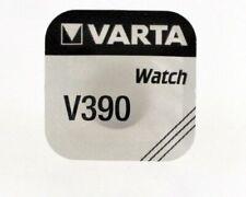 390 (sr1130w) silver oxide sr54 sr1130sw 5 round button batteries varta v390/v
