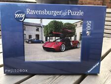 Ravensburger 500 piece jigsaw puzzle Pagani Huayra and Bugatti Veyron - New