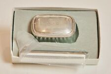 Sterling Boy'S Brush And Comb Set In Box - New