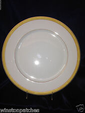 "BERNARDAUD FRANCE 1993 UNIVERS UNIVERSE YELLOW BAND DINNER PLATE 10 3/8"" PAILLE"