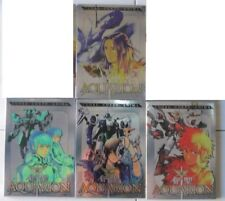 BOX 8 DVD ANIME/MANGA ROBOT-AQUARION 1,2,3,4 SACRA GENESI,I GUERRIERI DEL CIELO