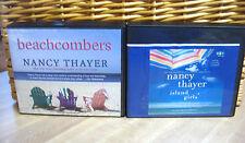 2 NANCY THAYER Unabridged Audiobooks CD - ISLAND GIRLS & BEACHCOMBERS