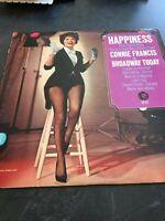 Connie Francis Happiness LP Vinyl