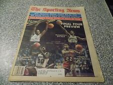 April 3,1982 The Sporting News Newspaper-Final Four Preview
