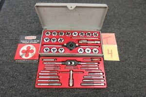 Craftsman Kromedge 5201 NF NC Tap & Hexagon Die Set Automotive Sae Tool USA