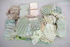 "Quilting Pieces Rectangles 2.5"" x 5.5"" Union Underwear Company Cotton Vintage"