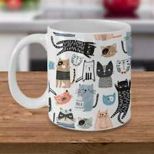 Crazy Cats Mugs Funny Cats Gift For Cat Lover cute mug