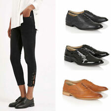Brogues Standard Width (B) Synthetic Flats for Women