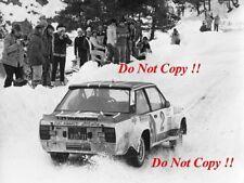 Walter Rohrl ALITALIA FIAT 131 ABARTH Monte Carlo Rally 1978 fotografia 1