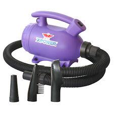 XPOWER B-55 Home Pet Grooming Blower Blaster Dog Force Hair Dryer & Vacuum