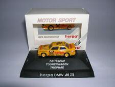 Herpa BMW M 3/M3 Allemand Voitures de tourisme Trophée m. meister 1:87 #30 3530