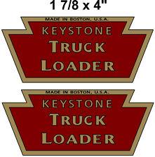 KEYSTONE  TRUCK LOADER  DECAL SET