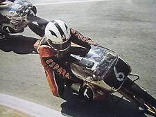 Poster Bultaco 125 #6 Angel Nieto (ESP) Morbidelli 125 #1 Pierpaolo Bianchi (ITA
