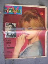 TV SORRISI e CANZONI # 45 - 6 NOVEMBRE 1960 - BRIGITTE BARDOT- CLAUDIO VILLA