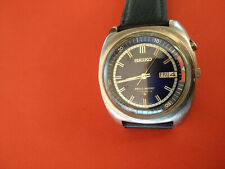 Rare Saxe Blue SEIKO Bell Matic 4006-7000 Vintage Watch _710