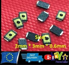 Tactile Push Button Tact Micro Switch Push Button 2Pin - 2mm X 3mm X 0.6mm - V26