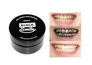 BLACK SMILE Aktivkohle Zahnpolitur 30g Bleaching Zahnaufhellung (33,17 EUR/100 g