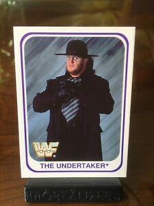 1991 MERLIN WWF THE UNDERTAKER ROOKIE #30 RARE