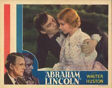 D.W. Griffith's ABRAHAM LINCOLN (1939) Abe Lincoln Romances Ann Rutledge