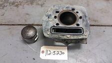 1981 Kawasaki Klt200 Engine Cylinder Piston Block Jug Barrel W Piston 11006-1011