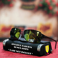 Men Women Khan Designer Cycle Bike Sports Fashion Sunglasses Black Gun Metal