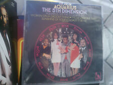 LP THE 5TH DIMENSION THE AGE OF AQUARIUS ITALY LIBERTY LP925 VG+
