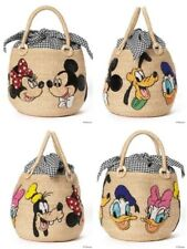 Basket Bag Disney Mickey Friends BEAMS BOY 20th ANIVERSARY COLLECTION Limited