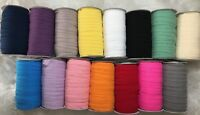 Soft Hallow Fold Over Elastic Roll 10 Metres 15 mm Headbands Baby Bow Band Lace