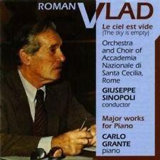 ROMAN VLAD: MAJOR WORKS FOR PIANO NEW CD