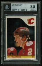 1985-86 O-Pee-Chee #237 Al MacInnis Flames Rookie BGS 8.5