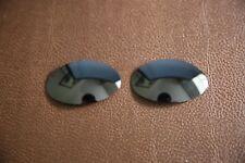 Polarlens Polarizado Negro Lente de Repuesto para-Oakley Eye Jacket Gafas De Sol