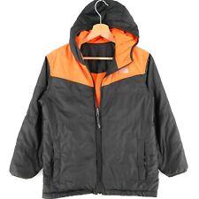 The North Face Boys Kids Orange Grey Reversible Jacket Size M 10-12 Years