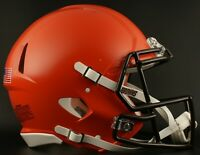 CLEVELAND BROWNS NFL Riddell SPEED Full Size Replica Football Helmet