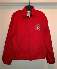 Men Club Looney Tunes Warner Brothers Bugs Bunny Red Jacket Coat Size S