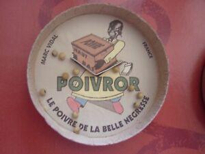 Boîte Carton Jeu de Patience Publicitaire POIVROR no Tôle, Banania, Kub, Liebig