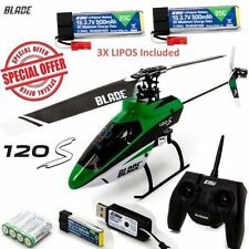 BRAND NEW BLADE 120S RTF READY TO FLY HELI HELICOPTER WITH SAFE  W/ 3X BATTERY!!